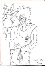 Z era Yamcha and Puar (rough draft) by DXRD