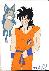 Z era Yamcha and Puar (colored) by DXRD