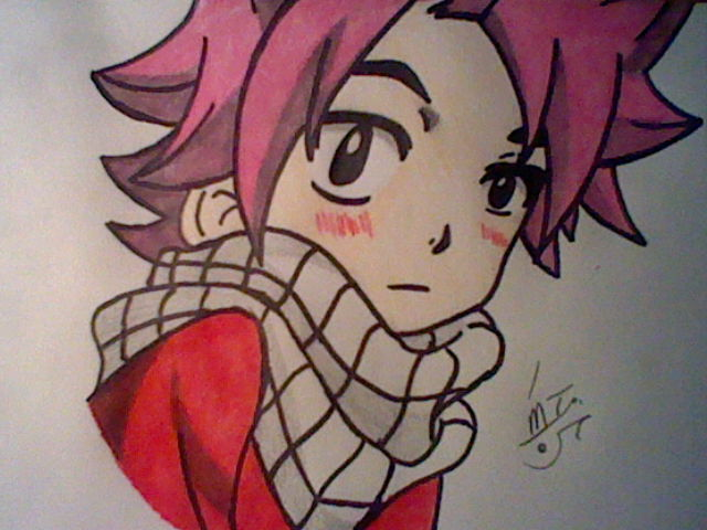 Natsu as a kid (from Fairy Tail) by LittleEmers27