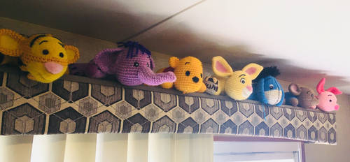 Pooh and Gang by wdw28ears