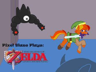 Pixel Blaze title card 2 by StallionMaidenStudio