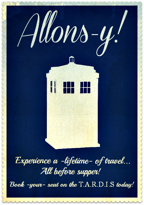 Allons-y! by MrsUnderground
