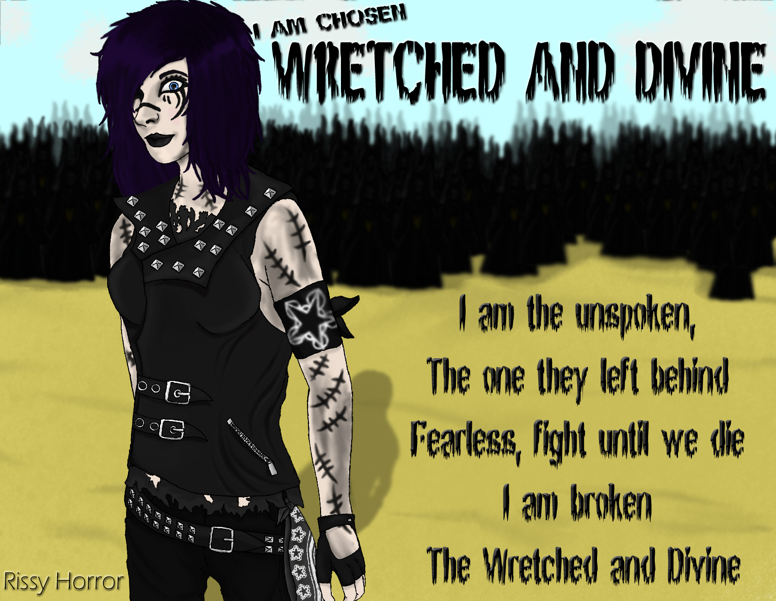 Wretched and Divine (The Trickster) by RissyHorrorx