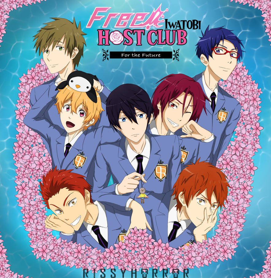 Free! Iwatobi Host Club by RissyHorrorx