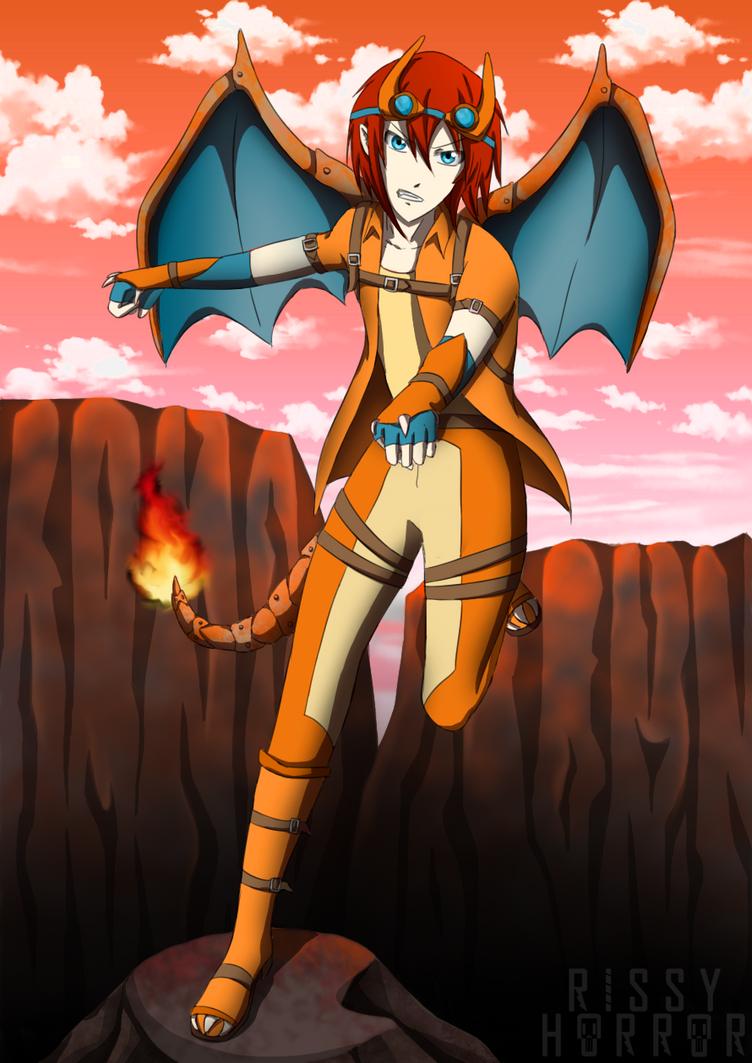 Charizard: Pokemon by RissyHorrorx