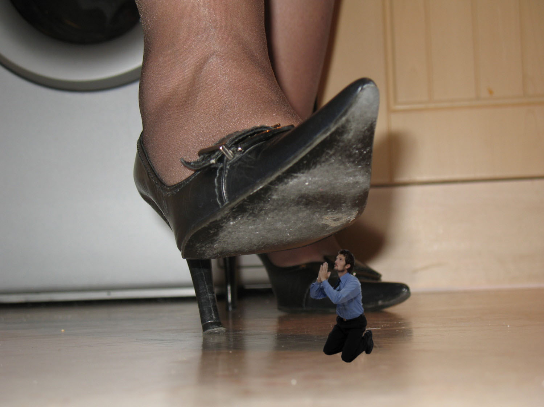 High Heel Shoe Pantyhose Masturbation