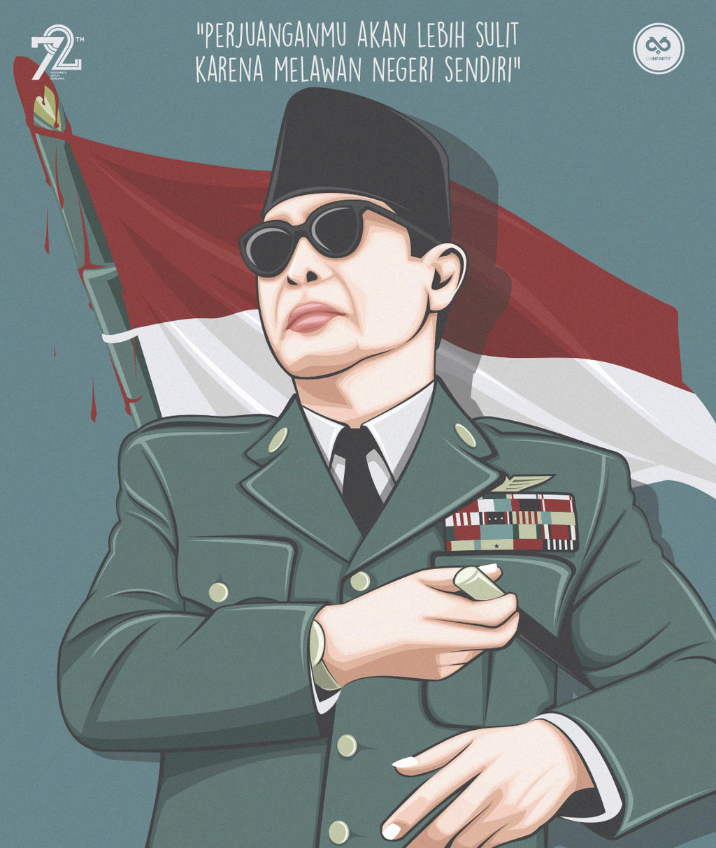 Vector Art 9 Ir Soekarno By Dikibully On Deviantart