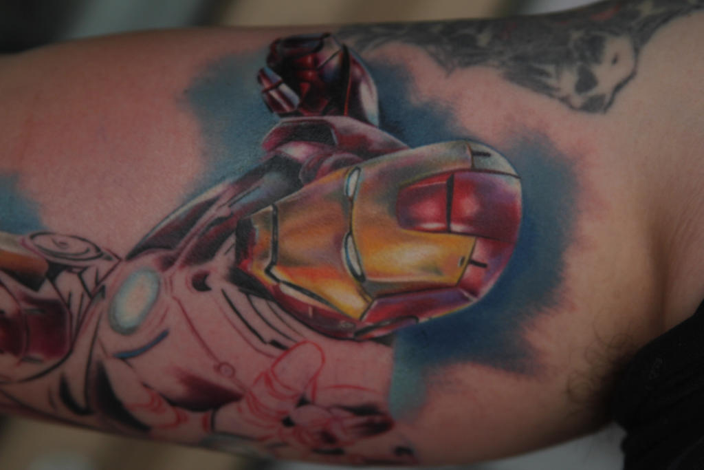 12 Impressive Iron Man Tattoo Designs