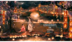 Commission: Illustration for Novel