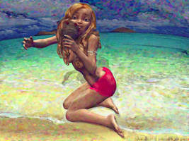 Mermaid transformation TF 2 by Cyberalbi