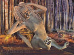 Anthro lioness TF 5