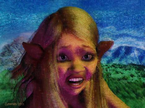 Anthro donkey transformation girl TF 2