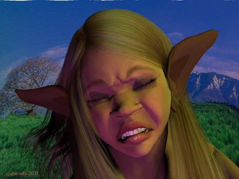 Anthro donkey transformation girl TF 3