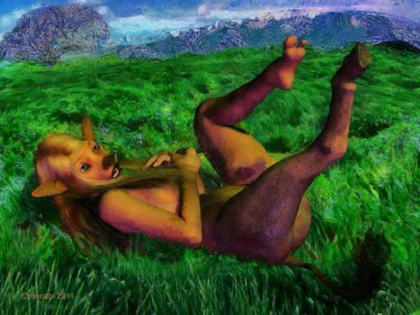Anthro donkey TF 7