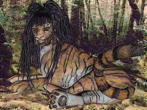 Anthro tiger transformation TF 10