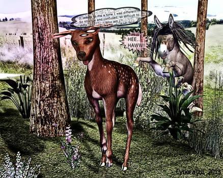 Girls to donkeys transformation donkey TF 7
