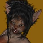 Inquietant Catgirl by Cyberalbi