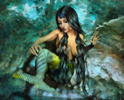 Mermaid transformation Video