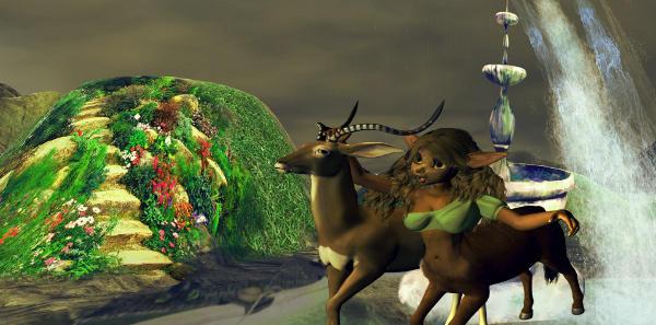 Centaurs world - Two virtual worlds