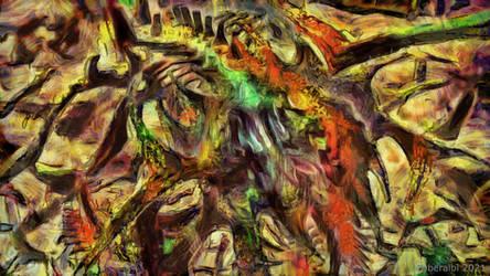 Magic roots - Mandelbulb3d fractal art