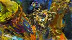 Alien planet - Mandelbulb3d fractal art by Cyberalbi