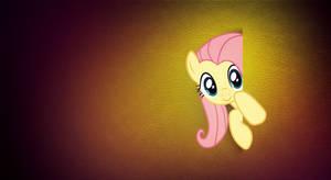 Peek a boo! - Fluttershy Wallpaper (MLP:FiM) by allwat