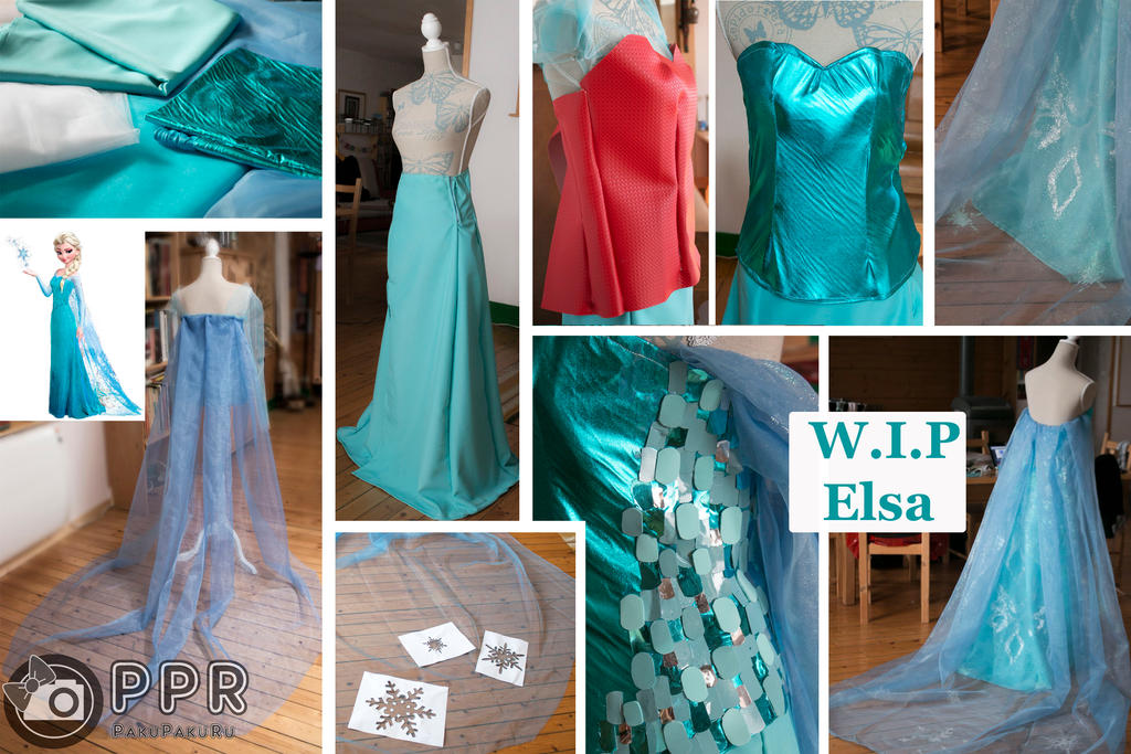 Wip Elsa Cosplay by PakuPakuRu by PakuPaku-Ru