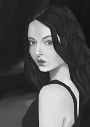 Value study #1 by aulaz