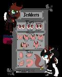 Jestdeers Open Species Sheet+Info