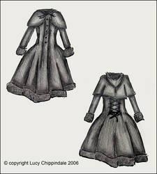 lolita coat. by blueink21