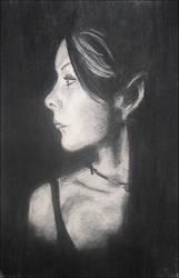 self-portrait. 1. by blueink21