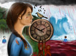 Tick Tock Painting - Digital redo