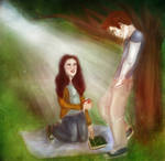 Bella and Edward - Adam and Eve