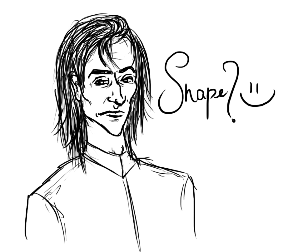 Snape? :-) by TheSearchingEyes