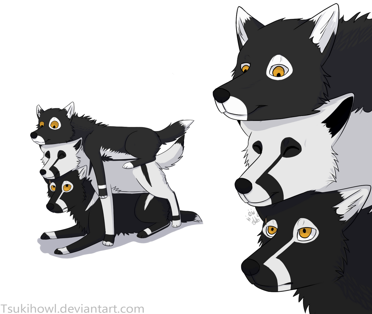 Wolf totem drawing - photo#21