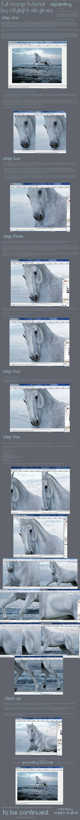 Equine Manip Tutorial : Part One. by citylight-skylines