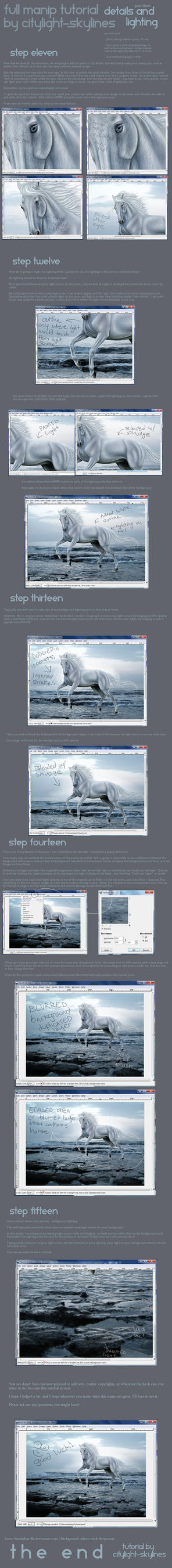 Equine Manip Tutorial : Part Three. by citylight-skylines