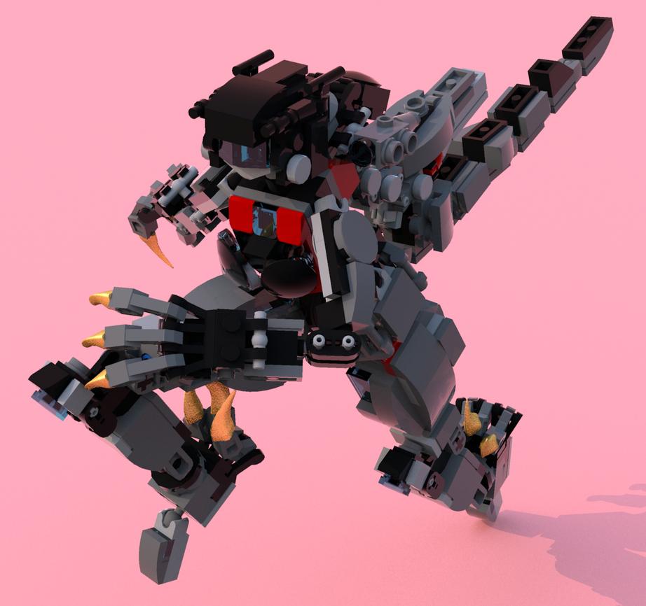 Lego Transformer Dinobot Letia 11 by pb0012 on DeviantArt