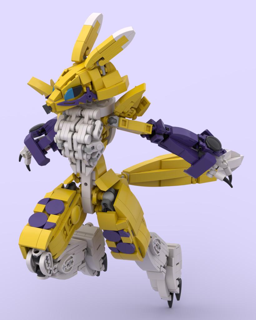Digimon Tamers Renamon 2