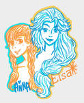 Sisters from Arendelle