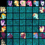 Mane 6 x Antagonists Shipping Grid [CLOSED]