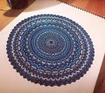 Blue Mandala 2