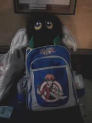 Kuriboh alado en mi mochila
