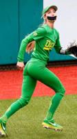 Softball player gagged