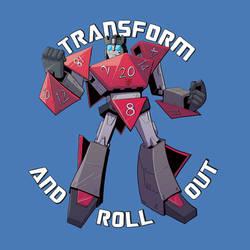 Transformers X DnD Mash-up (Autobot Crit)