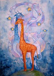 The Giraffe Dreaming by ShatteredSwords