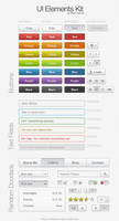 User Interface Button Kit by mattdanna