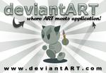 deviantART Bumper Magnet