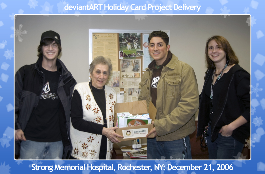 Holiday Card Project Delivery by mattdanna