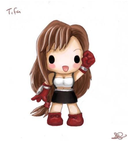Chibi Tifa by capsicum